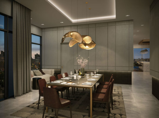 Dining Room at 8888 Yonge