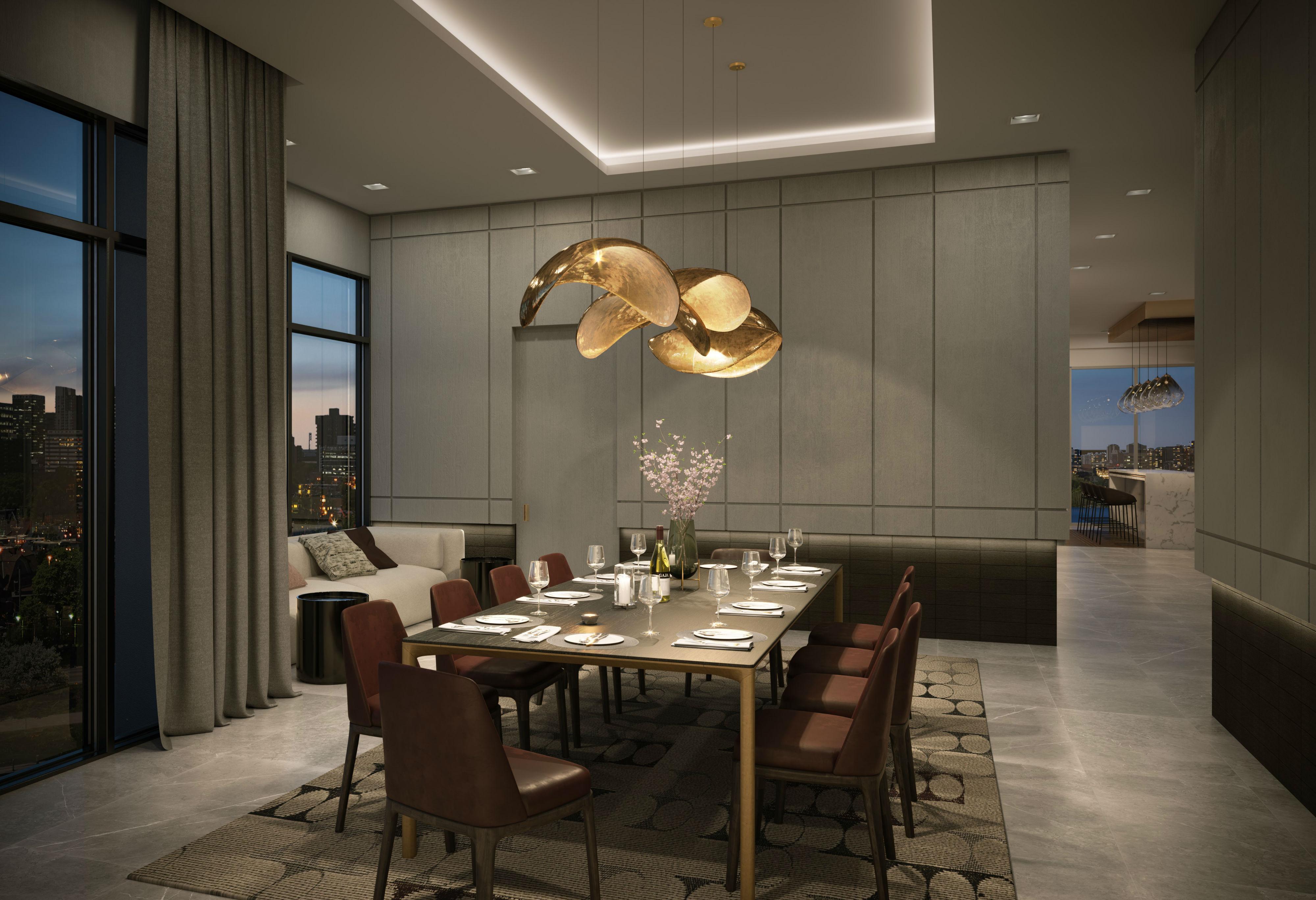 Dining Room at 8888 Yonge